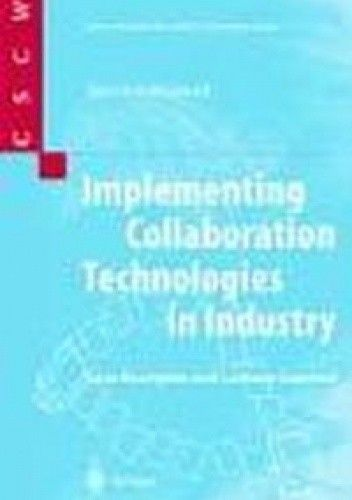 Okładka książki Implementing Collaboration Technologies in Industry