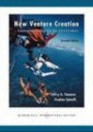 Okładka książki New Venture Creation