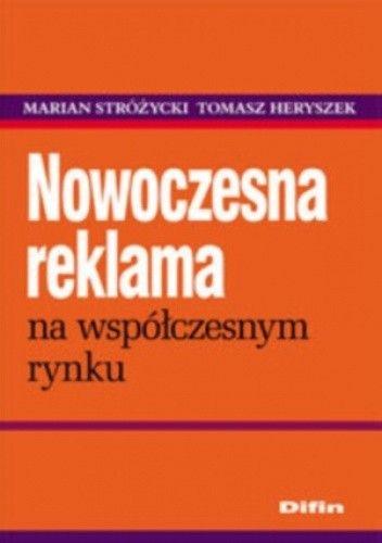 Okładka książki Nowoczesna reklama na współczesnym rynku