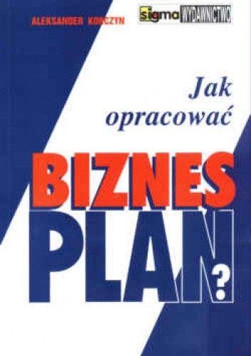 Okładka książki Jak opracować biznes plana