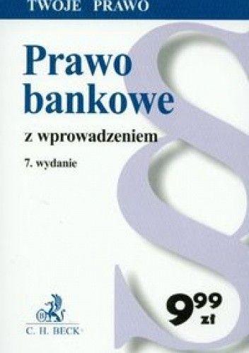 Okładka książki Prawo bankowe z wprowadzeniem