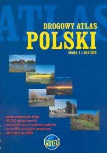 Okładka książki Drogowy atlas Polski