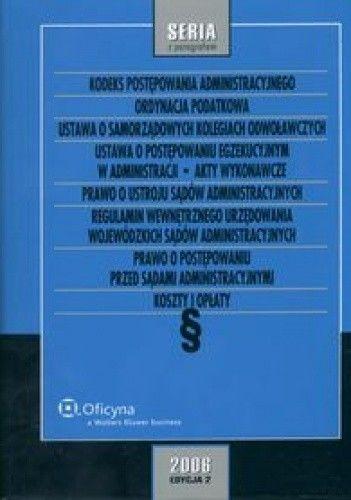 Okładka książki Kodeks postępowania administracyjnego Ordynacja podatkowa...