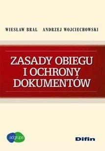 Okładka książki Zasady obiegu i ochrony dokumentów