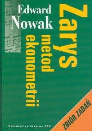Okładka książki zarys metod ekonometrii zbiór zadań
