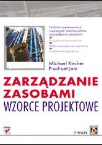 Okładka książki zarządzanie zasobami. Wzorce projektowe