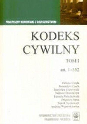 Okładka książki KODEKS CYWILNY T.2