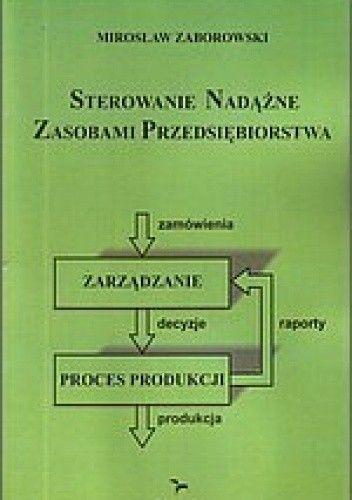 Okładka książki Sterowanie nadążne zasobami przedsiębiorstwa ERC.