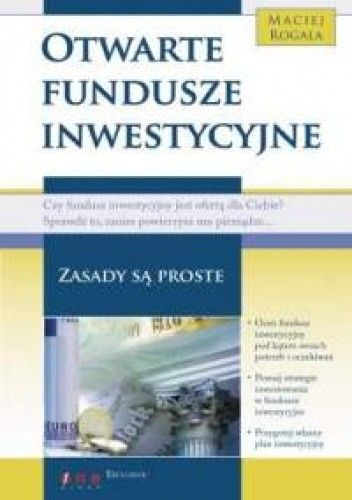 Okładka książki Otwarte fundusze inwestycyjne