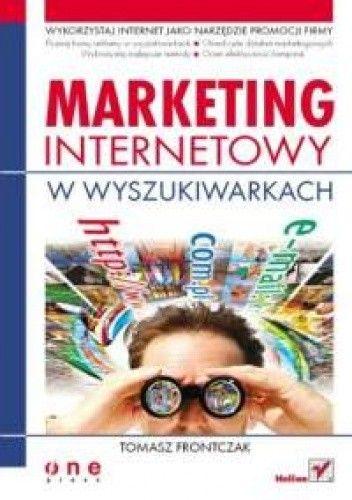 Okładka książki Marketing internetowy w wyszukiwarkach.