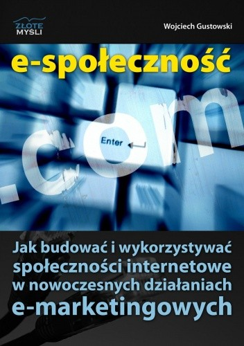 Okładka książki E-społeczność - e-book