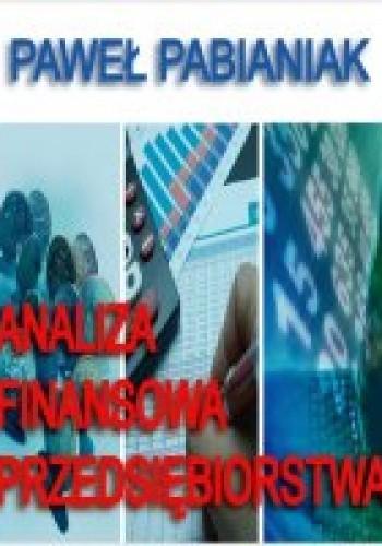 Okładka książki Analiza finansowa przedsiębiorstwa
