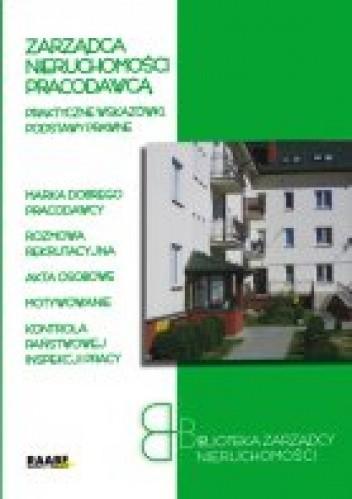 Okładka książki zarządca Nieruchomości Pracodawcą