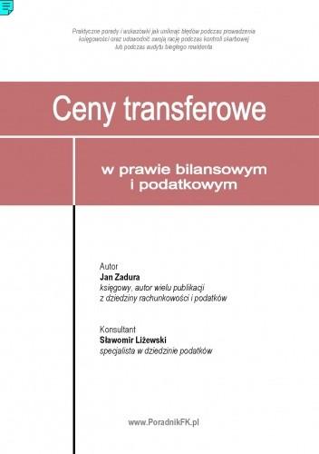 Okładka książki Ceny transferowe w prawie bilansowym i podatkowym - e-book
