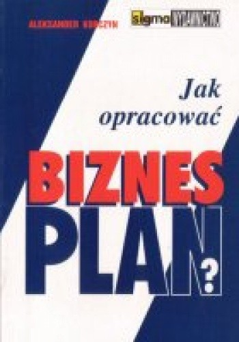 Okładka książki Jak opracować biznesplan 2009