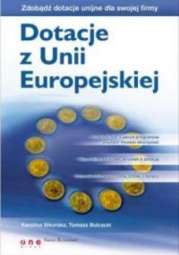 Okładka książki Dotacje z Unii Europejskiej