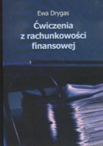 Okładka książki Ćwiczenia z rachunkowści finansowej