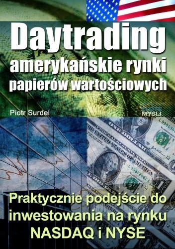 Okładka książki Daytrading - amerykańskie rynki papierów wartościowych - e-book