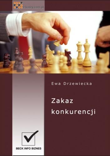 Okładka książki zakaz konkurencji - e-book