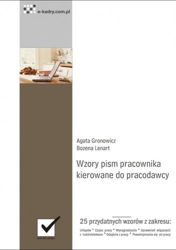 Okładka książki Wzory pism pracownika kierowane do pracodawcy - e-book