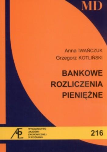 Okładka książki Bankowe rozliczenia pieniężne