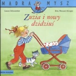 Okładka książki Zuzia i nowy dzidziuś