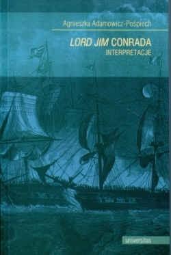 Okładka książki Lord Jim Conrada Interpretacje