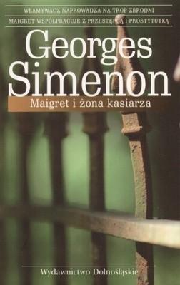 Okładka książki Maigret i żona kasiarza