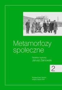 Okładka książki Metamorfozy społeczne