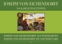 Okładka książki Joseph von Eichendorff na karcie pocztowej
