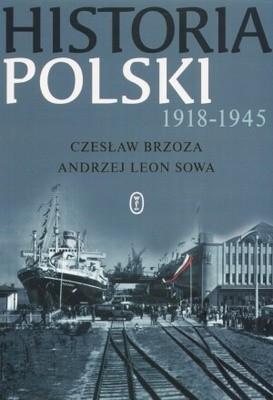 Okładka książki Historia Polski 1918-1945