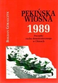Okładka książki Pekińska wiosna 1989