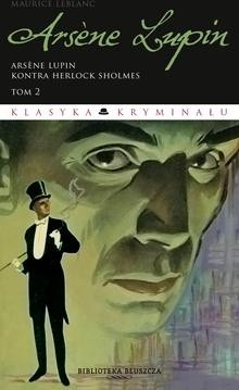 Okładka książki Arsene Lupin kontra Herlock Sholmes