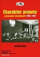 Okładka książki Charakter prawny