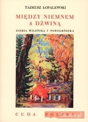 Okładka książki Między Niemnem A Dźwiną. Ziemia Wileńska I Nowogródzka