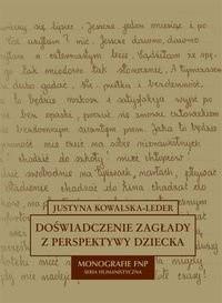 Okładka książki Doświadczenie zagłady z perspektywy dziecka w polskiej literaturze dokumentu osobistego