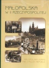 Okładka książki Małopolska w II Rzeczypospolitej