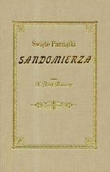 Okładka książki święte pamiątki Sandomierza