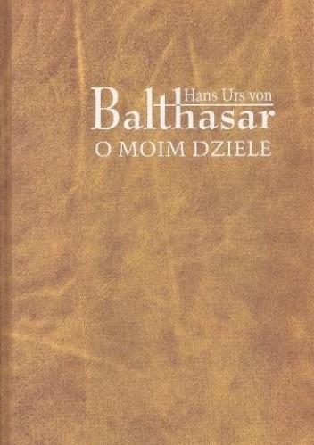 Okładka książki O moim dziele