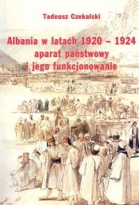 Okładka książki Albania w latach 1920-1924