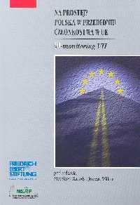 Okładka książki Na prostej? Polska w przededniu członkowstwa w UE