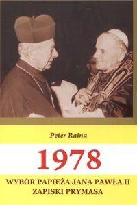 Okładka książki 1978 wybór Papieża J.P.II