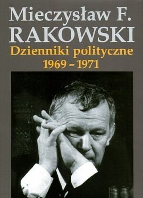 Okładka książki Dzienniki polityczne 1969-1971