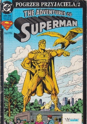 Okładka książki Superman 10/1995