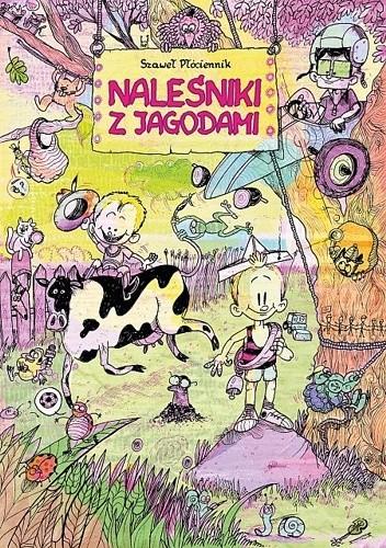 Okładka książki Naleśniki z jagodami