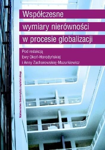Okładka książki Współczesne wymiary nierówności w procesie globalizacji