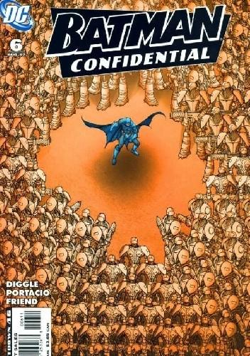 Okładka książki Batman Confidential #6