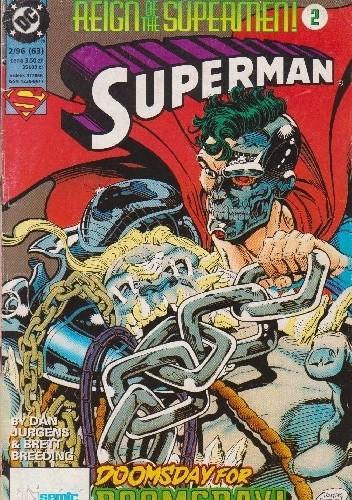 Okładka książki Superman 2/1996