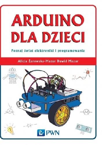 Okładka książki Arduino dla dzieci