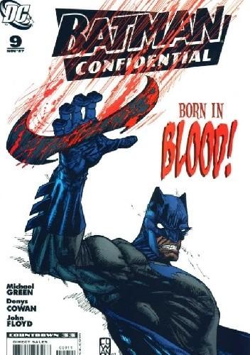 Okładka książki Batman Confidential #9